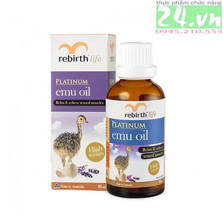 Tinh dầu đà điểu Emu Oil Rebirth ÚC - Lanopearl