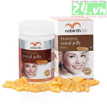 Viên Uống sữa ong chúa Rebirth - Lanopearl Úc Chính hãng giá rẻ